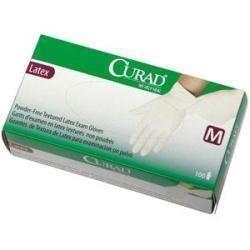 CURAD Non-Sterile Powder-Free Textured Latex Exam Glove Medium - Item #: 60CUR8105EA