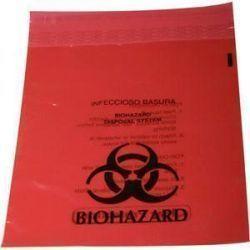 Medline Biohazard Liner with Ziplock Closure 12