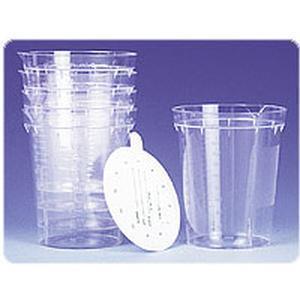 Kendall Healthcare Precision™ Premium Sterile Specimen Container with Screw Top 4Oz