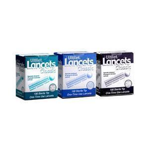 Boca Medical Products Ultilet® Classic Twist Off Lancet 28G, 100 Count, Smooth, Tri-Bevel Tip