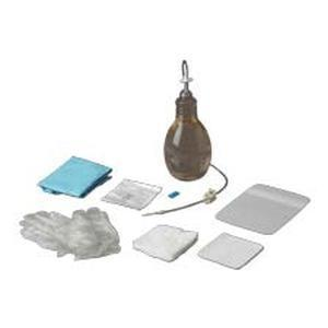 Care Fusion Pleurx Drainage Kit with 1000mL Vacuum Bottle, Includes Gauze pads, Alcohol Pads, Pair of Gloves
