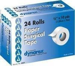 Dynarex Hypoallergenic Paper Surgical Tape 1/2