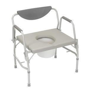 Drive Medical Deluxe Bariatric Drop-arm Commode 23