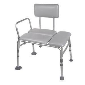 Drive Medical K.D. Padded Transfer Bench 400 lb, 21-3/4