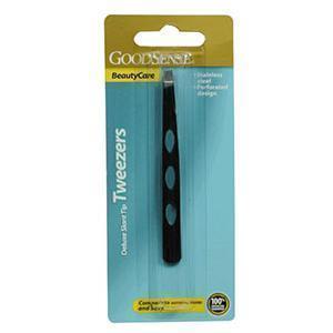 GoodSense® Deluxe Tweezer with Slant Tip, Black