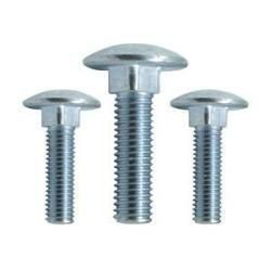 Carriage Bolt for Wheelchair, 1/4
