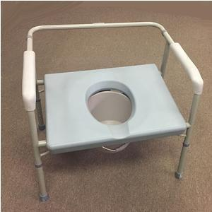PMI Commode Seat, Bariatric, Extra Wide Seat