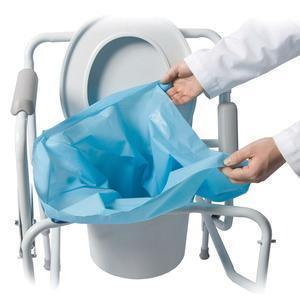 Sani-Bag+ Commode Liner, Biodegradable - Item #: RI65010
