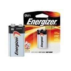 Energizer Personal Care Max® Alkaline Battery 9 Volt, Mercury-Free