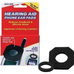 Health Enterprises Acu-Life® Hearing Aid Phone Pad, Comfort-Fit Design