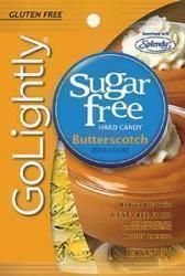 Hillside Candy GoLightly Sugar-Free Hard Candy Butterscotch, 2.75 oz