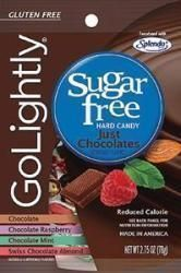 Hillside Candy GoLightly Sugar-Free Hard Candy Chocolate, 2.75 oz