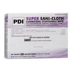 PDI Super Sani-Cloth® Germicidal Disposable Wipes, Large
