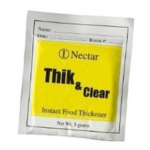 Nutra Balance Thik & Clear® Food and Beverage Thickener 5g Nectar Packet
