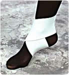 "Product Photo: ELASTIC ANKLE WRAP, MED, 7 1/2""-8 1/2"", WHITE"
