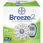 Product Photo: Bayer Ascensia® BREEZE® 2 Blood Glucose Test Strip Disc, 1.0μL Small Blood Sample, 5 second Test Time