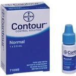 Bayer (56) Ascensia contour normal control solution, 2.5ML 1 vial per box..