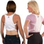 Product Photo: Milliken Medical Posture Corrector White Cotton Canvas, One Size Fits Most
