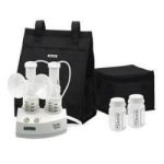 Product Photo: Ameda Purely Yours® Double Electric Breast Pump with Carry All Tote and AC Adapter