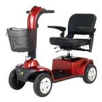 "Product Photo: Golden Technologies Companion™ 4-Wheel Scooter 47-1/2"" L x 24"" W, 4"" Ground Clearance, 18"" x 16"" Seat, 53-1/2"" Turning Radius"