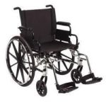 "Product Photo: Invacare Corporation 9000 XDT Custom Built Wheelchair 36"" H x 29"" W x 29"" D, 350 lb Weight Capacity"