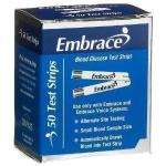 Product Photo: Embrace Blood Glucose Test Strip (50 count) - Item #: OHAPX02AB0202MO
