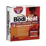"Product Photo: Okamoto USA Beyond BodiHeat® Pain Relieving Neck/Shoulder/Wrist Heat Pad, 5"" x 5-1/4"" Disposable"